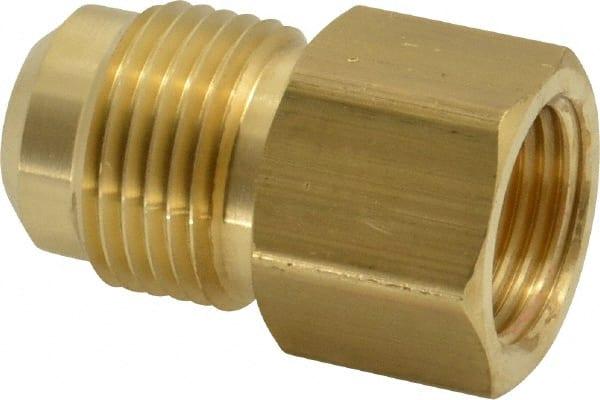 "5 X New Brass 3//4/"" OD Flare Cap Brass Flare Tube Fitting"