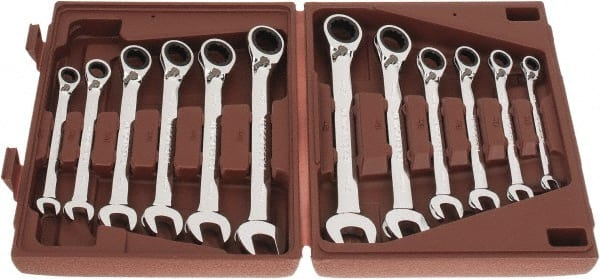 Paramount - 12 Piece, 8mm to 19mm, Reversible Ratcheting