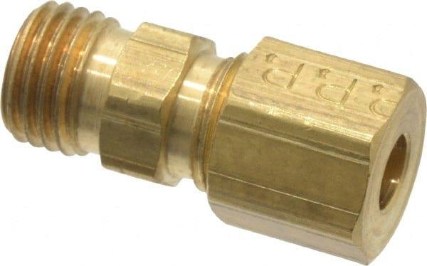 Tube to Tube 3//8 3//8 Brass Parker 62VL-6 Vibra Lok Compression Style Fitting Compression Union