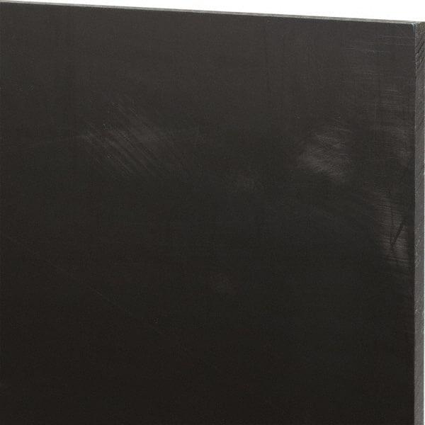 BLACK 12 MM NYLON ENGINEERING PLASTIC SHEET 182 MM X 95 MM  X 1 PIECE