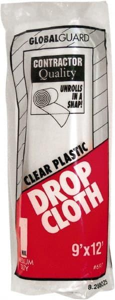 premier paint roller 9x12u0027 1mil clear plastic drop cloth 697
