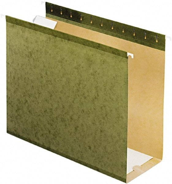 25-Pack Green Home office Hanging File Folders Letter Size