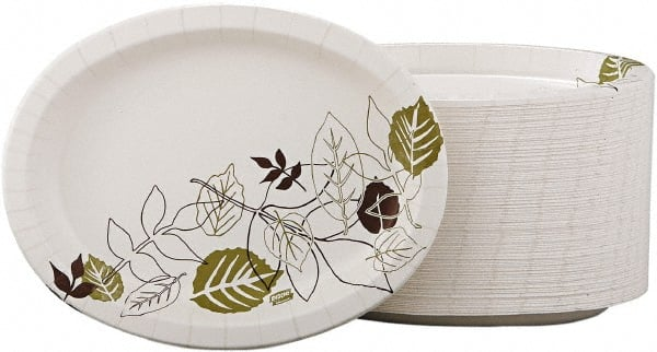 Dixie Paper Plates - Heavyweight Oval Platters 8-1/2 x 11  sc 1 th 164 & Dixie Heavyweight Paper Plate   MSCDirect.com