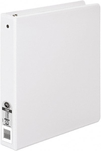 white 1 inch binder mscdirect com