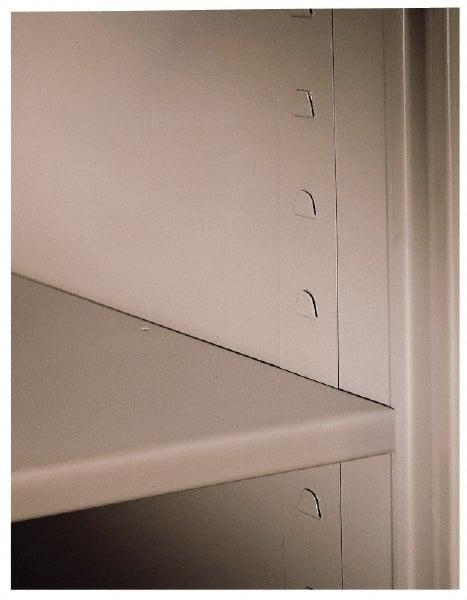 Tennsco Wardrobe Storage Cabinet Steel 36 Wide X 24 Deep 3 4 High
