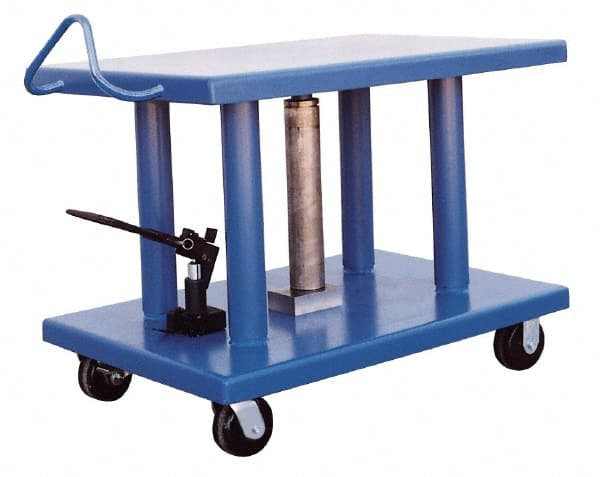 Vestil 6,000 Lb. Capacity, Manual Hydraulic Post Lift Table   36 To 54 Inch