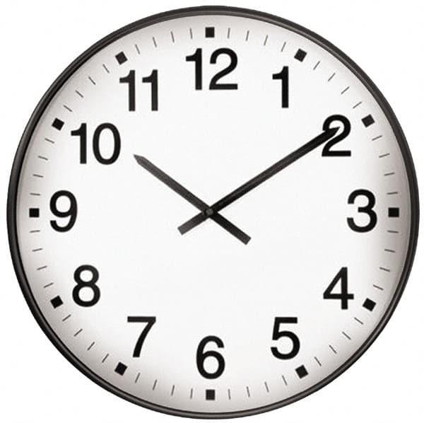 17 Inch Diameter White Face Dial Wall Clock