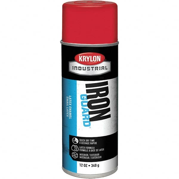 Metal Red Color Spray Paint Mscdirect Com