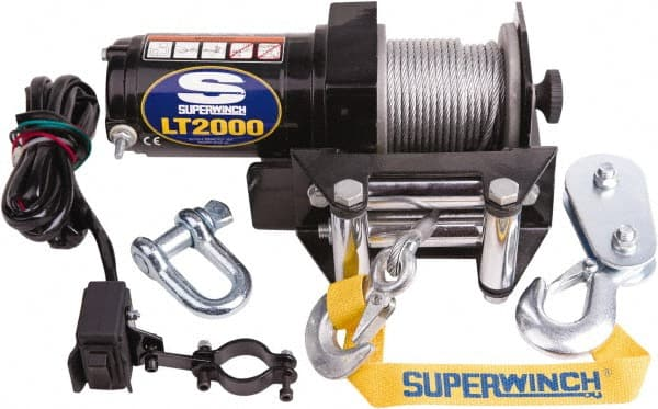 Superwinch - 2,000 Lb Capacity, 50' Cable Length, ATV Winch