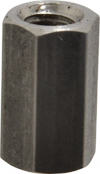 """US Made Steel Coupling Nuts; 1/""""-8 Thread 1-5//8 Hex; 13009 Northwestern Qty//2"""