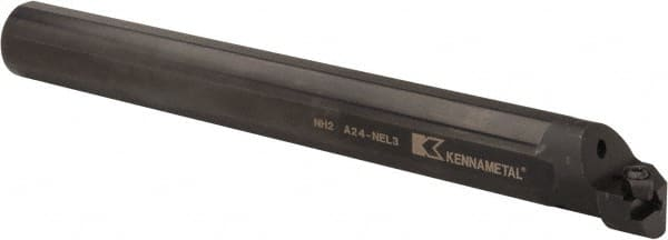 "12/"" OAL 1/"" Dia Shank Kennametal S16-NER3 Indexable Boring Bar"