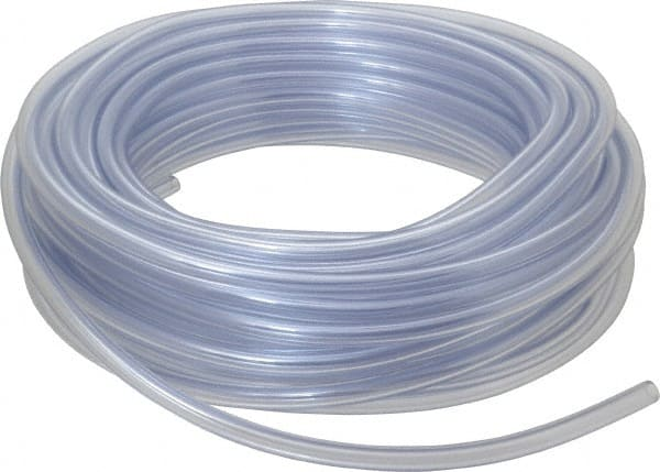 """Sold in 3 foot lengths Clear PVC Vinyl Tubing 3//8/"""" I.D x 1//2/"""" O.D"""
