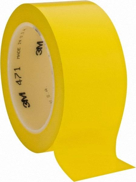 3M - Yellow Solid Color Vinyl Tape - 65364697 - MSC