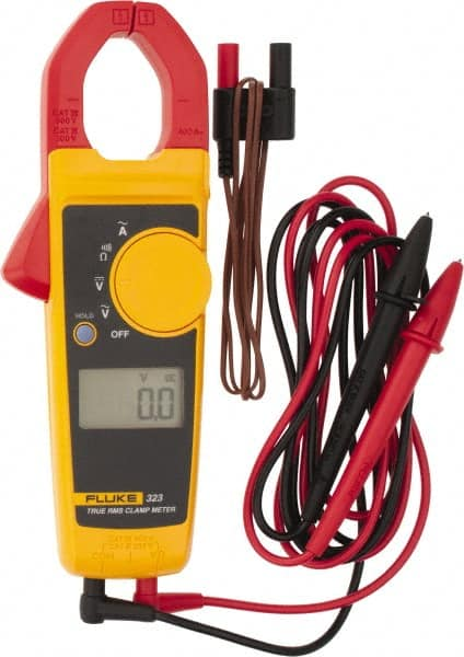 Fluke - 323, CAT IV, CAT III, Digital True RMS Clamp Meter