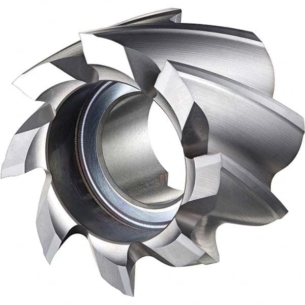 High Speed Steel Right Hand Cut 3 Shell End Mill