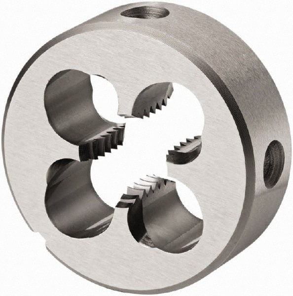 "11//16-11 UNC Thread Adjustable Round Die 5//8/"" Thick 2/"" Outer Diameter 5//8/"" Width"
