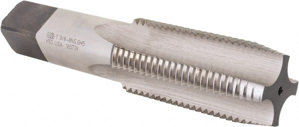 3-3//4 Overall Length 4 Flutes 1-5//8 Length of Cut Union Butterfield 5//8 End Mill Center Cutting TiCN Coating Single End