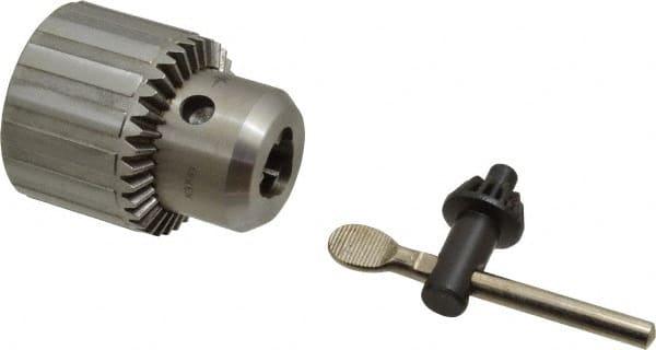 Heavy Duty 1//32/'/' 1//2/'/' JT33 Drill Chuck w// Key keyed Sleeve