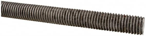 Made in USA 5//16-24 National Fine Low Carbon Steel Threaded Rod 6/' Long