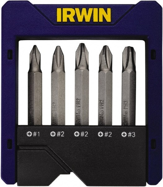 """10pc  6/"""" PHILLIPS #2 SCREW DRIVER BITS MAGNETIC TIPS ROUND SHAFT PH2"""