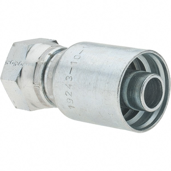 1//2 Female By 1//2 Female Parker PS Series Hydraulic Hose Fitting Brass Swivel