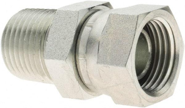 Continental Hydraulic Adapter Fitting NPTF Female NPTF Female 1-11 1//2