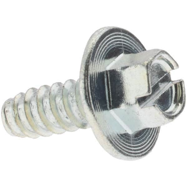 Hex Washer Head Small Parts 1232ABSW Pack of 1500 2 Length Type AB Zinc Plated Steel Sheet Metal Screw 2 Length Pack of 1500 Slotted Drive #12-14 Thread Size