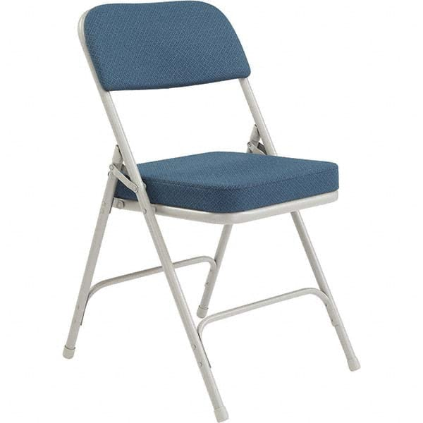 Superb Steel Padded Seat Folding Chair Mscdirect Com Download Free Architecture Designs Itiscsunscenecom