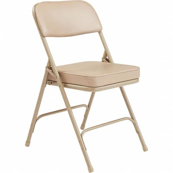 Nps Folding Chairs Pad Type Chair W Vinyl Padded Seat Material