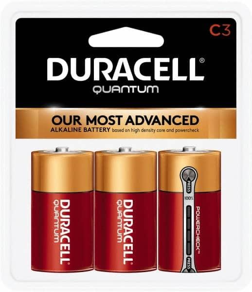 Duracell Size C Alkaline 3 Pack Standard Battery 66994781