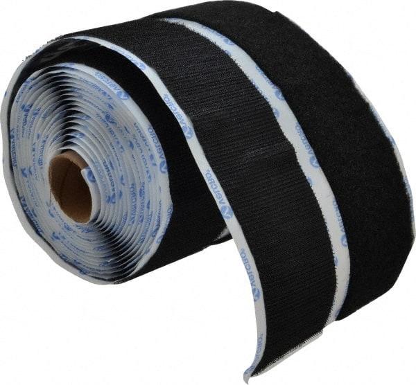 2 Wide Loop Type 5 Length Standard Back VELCRO 1016-AP-PB//L White Nylon Woven Fastening Tape