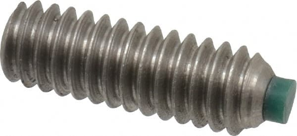 Nylon-Tip Set Screw Thread Size 1//4-20 Thread Size 1//4-20 FastenerParts Alloy Steel