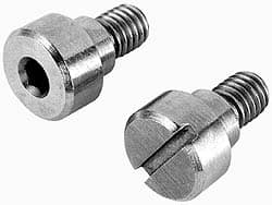 8MM Head Ht UNICORP MSCS787-1 Slotted Shoulder Screw- 12MM Shoulder Dia 20MM Head Dia M10 X 1.50 Thread 303 Stainless QTY-25 12MM Shoulder Lg