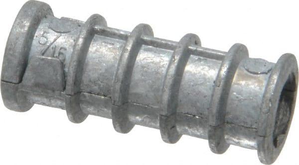 Qty 100 Concrete Wedge Anchors Zinc Alloy 1//2-13 X 2-3//4