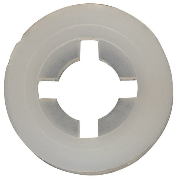 0.4140 OD 0.1710 ID White Nylon 6//6 Cup Washer #8 Hole Size 0.2060 Nominal Thickness Pack of 100