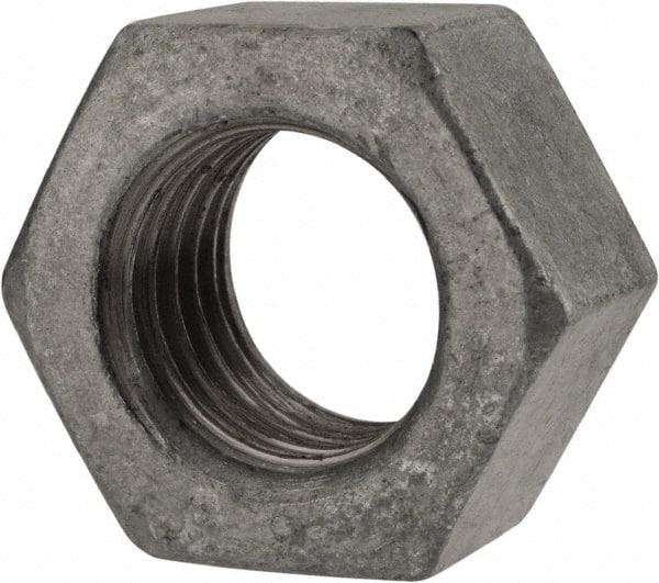 Galvanized steel nut mscdirect