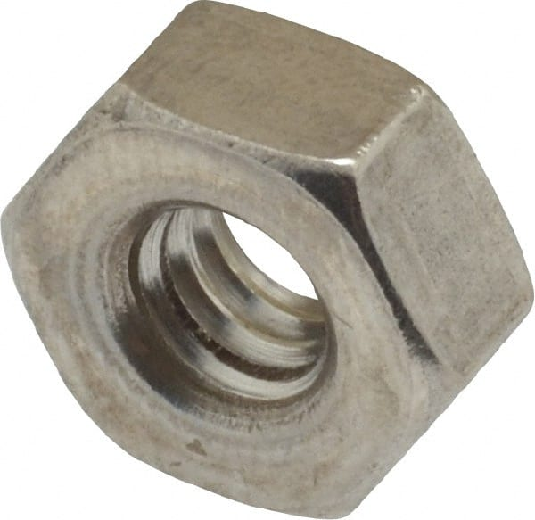 #10-24 X 0.125 AISI 316 Stainless Steel Regular Square Nuts 175 pcs