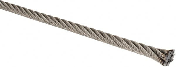 1/4 Inch Diameter Stainless Steel Wire Rope 67679340 - MSC