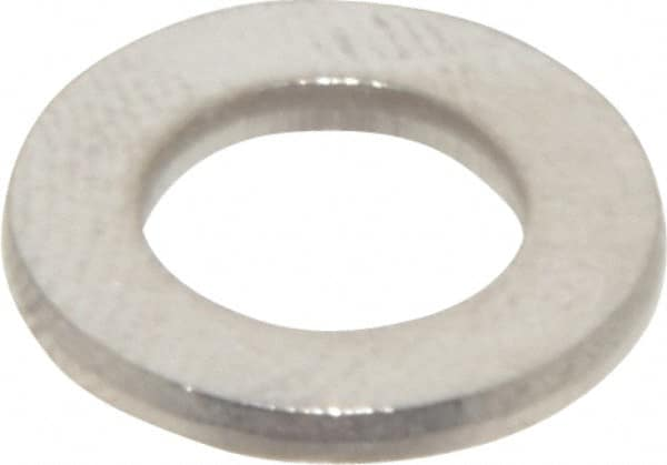 56mm OD 4mm Nominal Thickness Small Parts M18 Hole Size 18-8 Stainless Steel Flat Washer Meets DIN 9021 Plain Finish 20mm ID