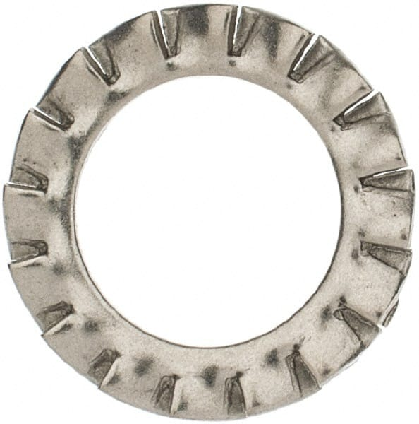 100 Pcs Stainless Steel External Serrated Shake-proof Washers Lock Washer ESBB