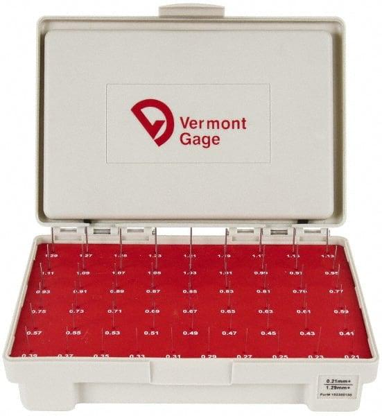 "Gage Pin HSS Class ZZ Vermont Gage Go .9995/"" Plus .0002/"""