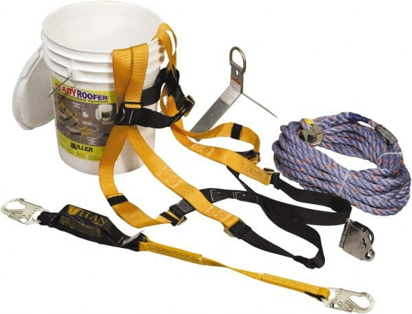 Miller - Fall Protection Kits Type: Roofer's Kit Size: Universal