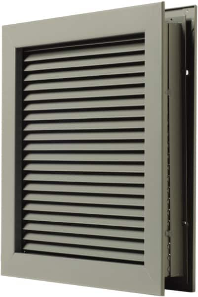 National Guard Products 12x12inches 18ga Stl Pwdr Ct Self Attach Door Louver  L 700