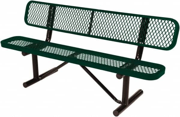 8 Ft Long X 20 Inch Wide Steel Bench Seat 68692227 Msc