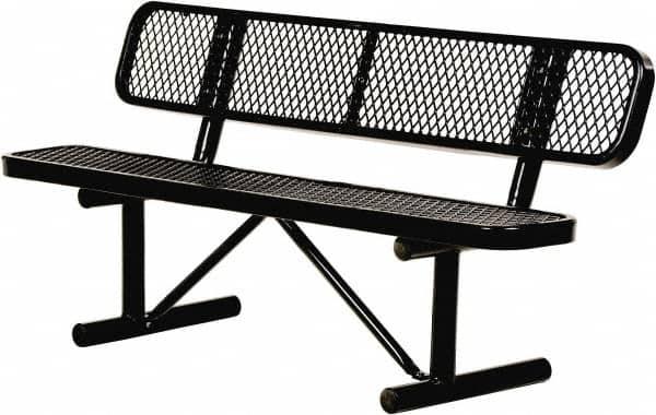 6 Ft Long X 20 Inch Wide Steel Bench Seat 68692243 Msc