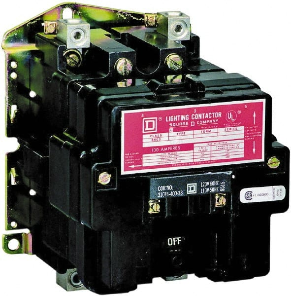 square d lighting contactor wiring square d no enclosure  2 pole  electrically held lighting contactor  electrically held lighting contactor
