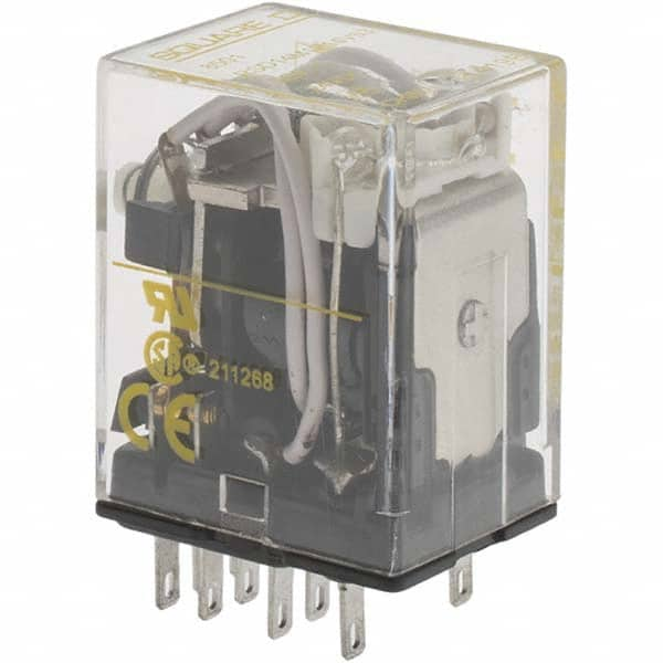 Push To Test 240VAC Coil Voltage Siemens 3TX71195LH13 Mechanical Flag Square Base Premium Plug In Relay LED DPDT Contacts 20A Contact Rating