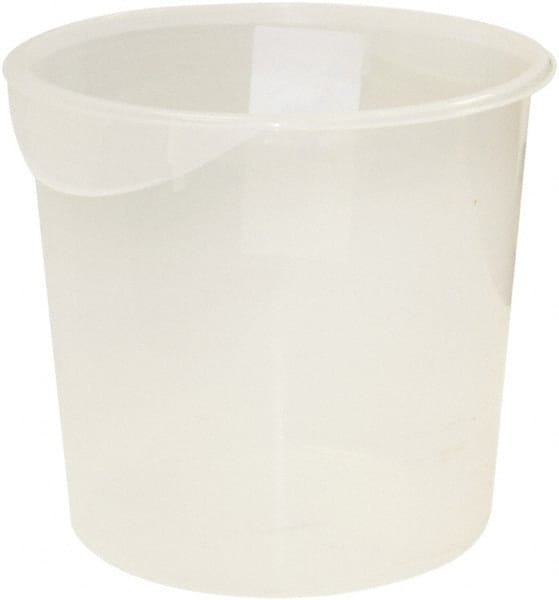Rubbermaid Round Clear Polypropylene Food Storage Container