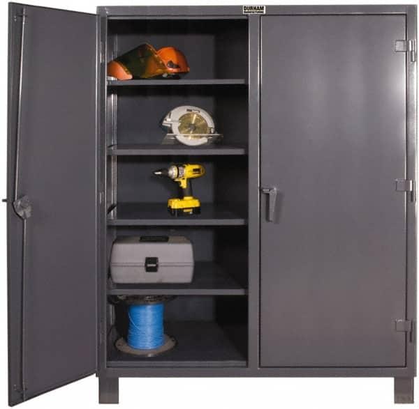 Durham 8 Shelf Locking Storage Cabinet 69956316 Msc Industrial Supply