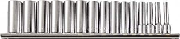 """Paramount 20 Piece 3//4/"""" Drive Deep Well Socket Set 12 Points 3//8 to 3//4/"""" Ran..."""
